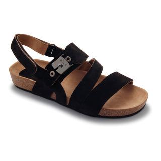ISIDRO tmavo hnedé sandále