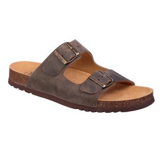 GERRY tmavo hnedé zdravotné papuče