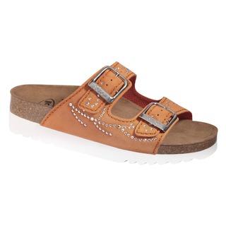 Mälaren oranžové zdravotné papuče (model 2020)