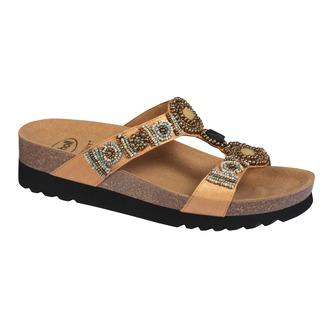 NEW BOGOTA wedge krémové zdravotné papuče