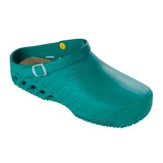 Clog EVO zelená pracovnú obuv