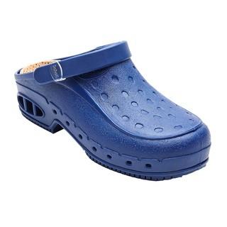 NEW WORK TIME s pásikom - modré pracovné sandále