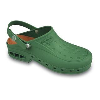 NEW WORK TIME s pásikom - zelené pracovné sandále