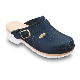 Clog SUPERCOMFORT - tmavo modrá zdravotná obuv