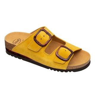 Ilari 2 STRAPS žlté zdravotné papuče