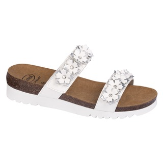 LETIZIA biele zdravotné sandále