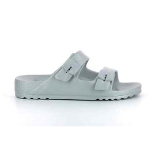 SHO BAHIA - strieborné zdravotné papuče