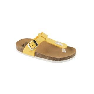 BOA VISTA KID žlté detské zdravotné papuče