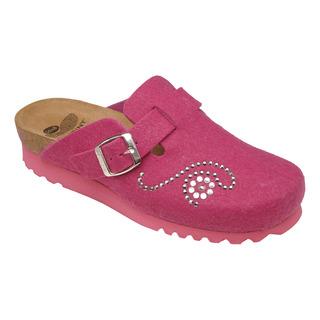 DARIKA ružová domáca obuv
