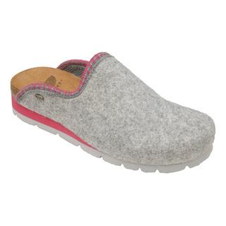 INDA šedá domáca obuv