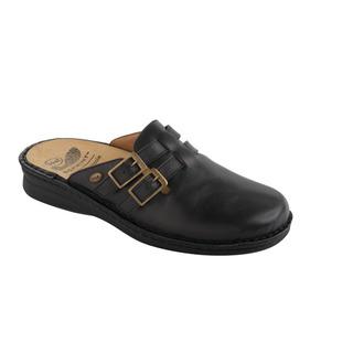 NEW INDOOR čierna zdravotná domáca obuv
