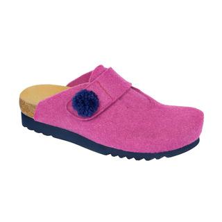 Elvy ružová domáca obuv