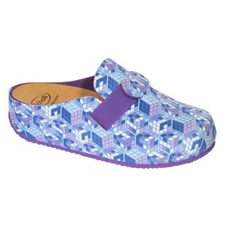 LARETH modrá domáca obuv (model 2019)