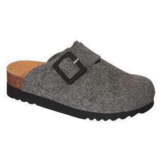 MAGGIE tmavo šedá domáca obuv