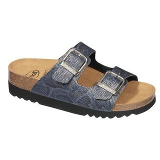 Mälaren modré zdravotné papuče (model 2019)