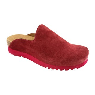SIRDAL tmavo červená domáca obuv