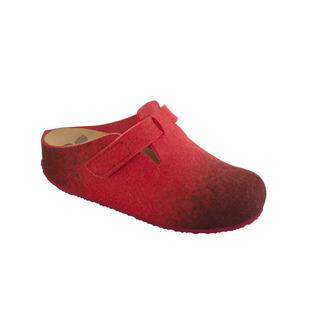 RENLI červená domáca obuv