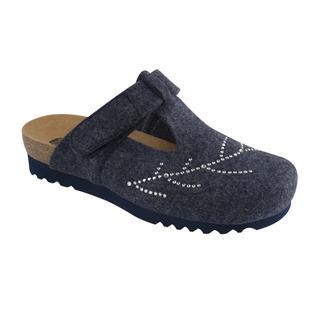 FOTINIA tmavo modrá domáca obuv
