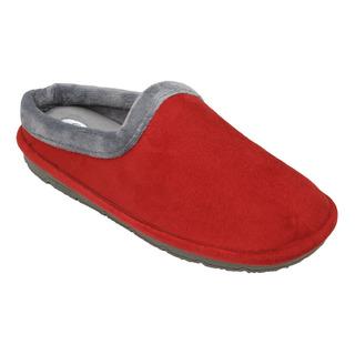 SIMONE červená / šedá domáca obuv