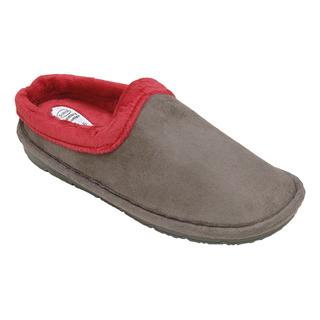 SIMONE sivá / ružová domáca obuv