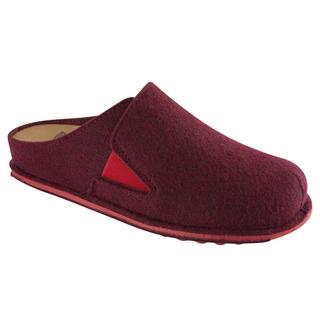 SPIKEY5 tmavo červená domáca obuv