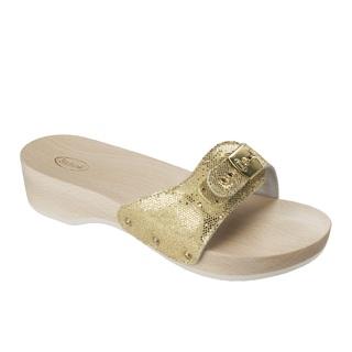 PESCURA HEEL - platinové zdravotné papuče