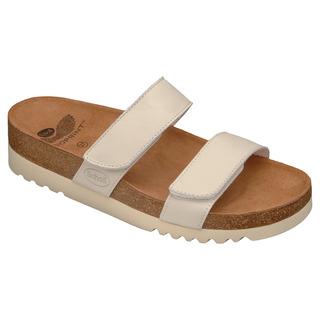LUSAKA biele zdravotné papuče
