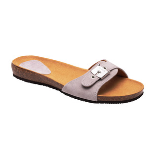 BAHAMA 2.0 - svetlo šedej zdravotné papuče