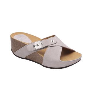 ELON 2.0 - svetlo šedej zdravotné papuče