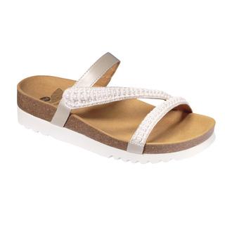 JOANNE - biele zdravotné papuče