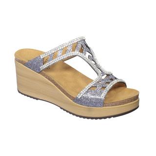 ELETTRA - cínová šedi papuče