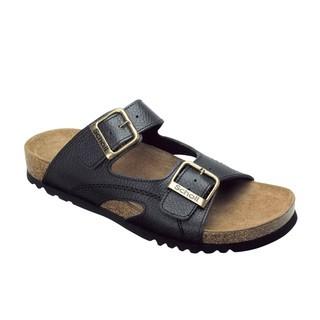 Moldava AD - čierne zdravotné papuče