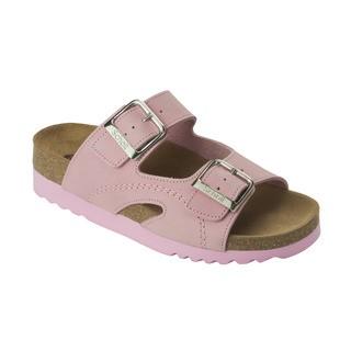 Moldava WEDGE AD - ružové zdravotné papuče