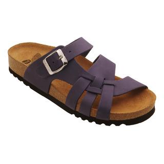 Carsoli tmavo purpurové zdravotné papuče