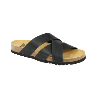 Damson čierne zdravotné papuče
