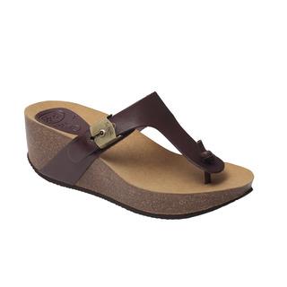 EDNA 2.0 - tmavo hnedé zdravotné papuče