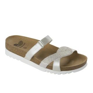 Fiorilli biele zdravotné papuče