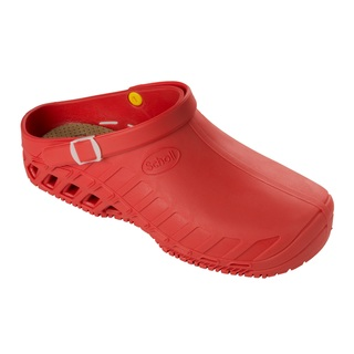 Clog EVO červená pracovná obuv