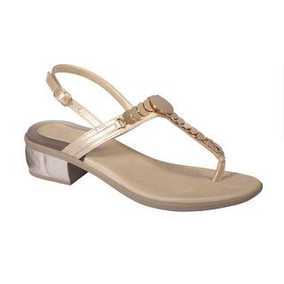 CHRYSILLA platinové zdravotné sandále