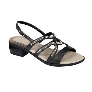 Danae čierne zdravotné sandále