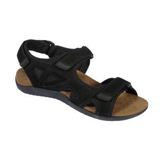 SPINNER čierne zdravotné sandále