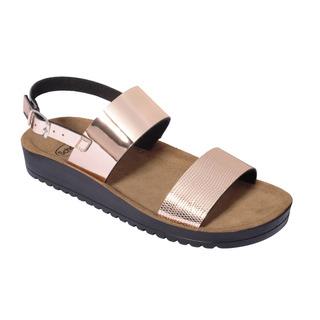 CYNTHIA SANDAL ružovo zlaté zdravotné sandále