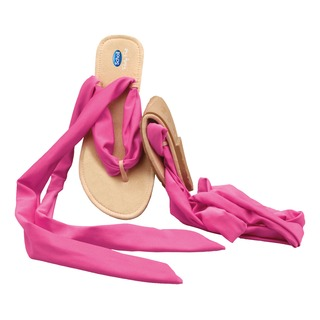 Pocket Ballerina Sandals - čierne / ružové balerínky
