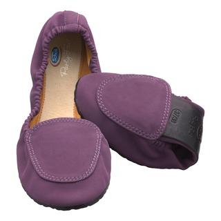 Pocket Ballerina Moccasin - fialové balerínky