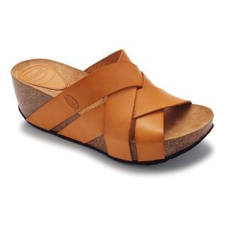 ERULA - svetlo hnedé módne sandále