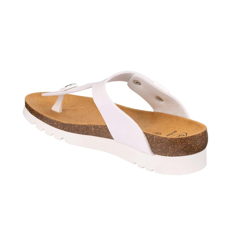 Scholl BOA VISTA UP biele zdravotné papuče