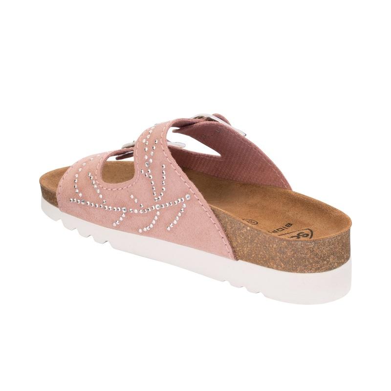 Scholl Mälaren bledoružovej zdravotné papuče (model 2020)