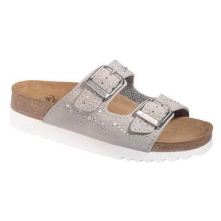 Mälaren svetlo šedej zdravotné papuče (model 2020)