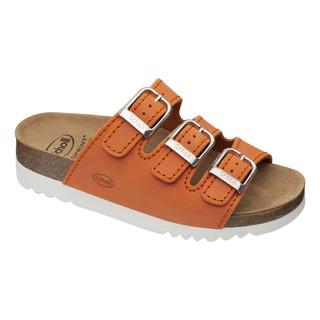 RIO WEDGE AD oranžovej zdravotné papuče