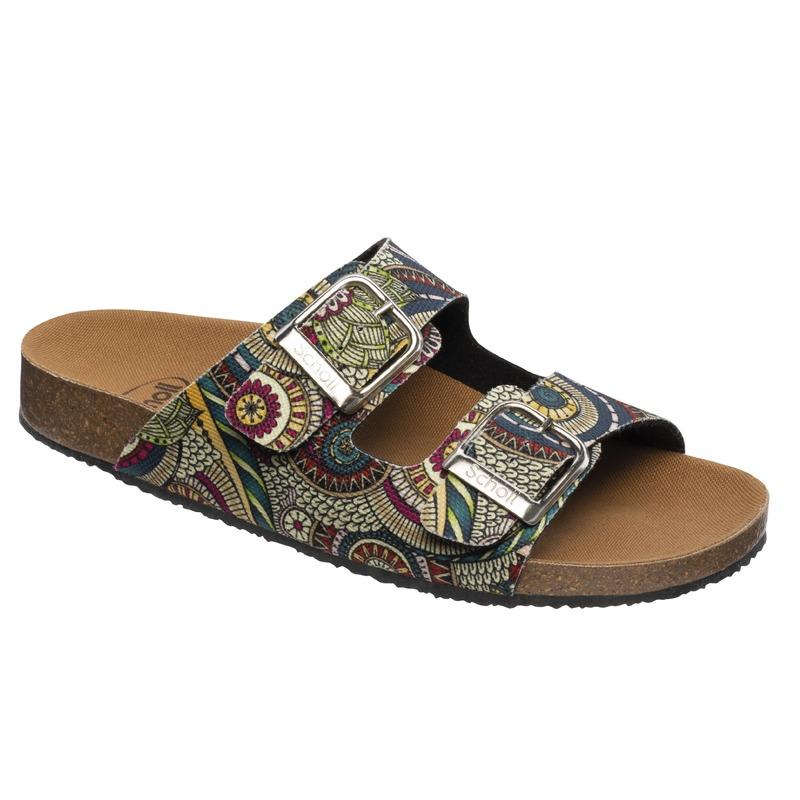 Scholl Greeny Mälaren zelené zdravotné papuče